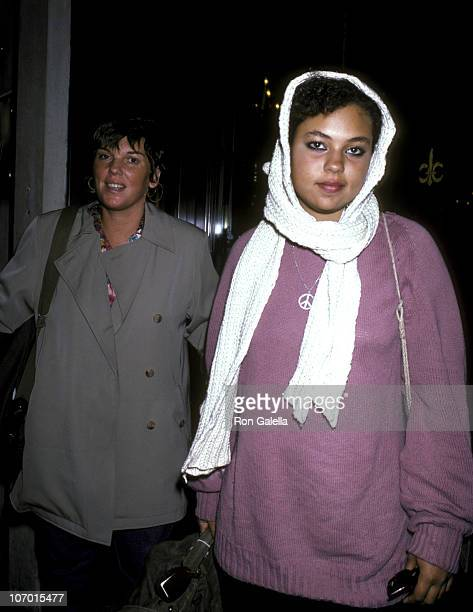 Tyne Daly and her Daughter during Tyne Daly and her Daughter sighting in New York City at the Regency Hotel October 26 1985 at Regency Hotel in New...