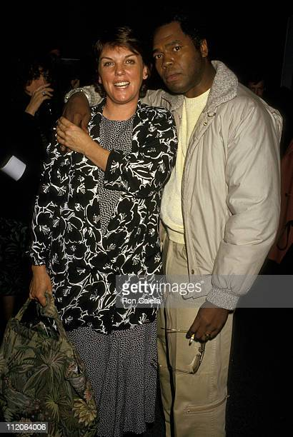 Tyne Daly and Husband Georg Stanford Brown during Hard Times Benefit Performance for the Homeless at LA Theater Center in Los Angeles California...