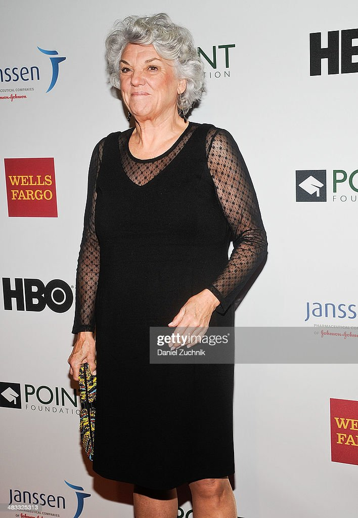 Tyne Daly attends the 2014 Point Honors New York gala at New York Public Library on April 7, 2014 in New York City.