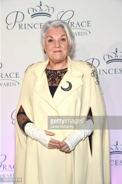 Tyne Daly attends the 2018 Princess Grace Awards Gala at Cipriani 25 Broadway on October 16 2018 in New York City