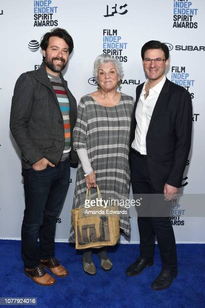 Tyne Daly attends the 2019 Film Independent Spirit Awards nominee brunch at BOA Steakhouse on January 5 2019 in West Hollywood California