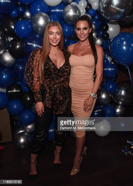 TyneLexy Clarson and Danielle Lloyd attend the Vaporesso UK Launch party on October 25 2019 in Birmingham England