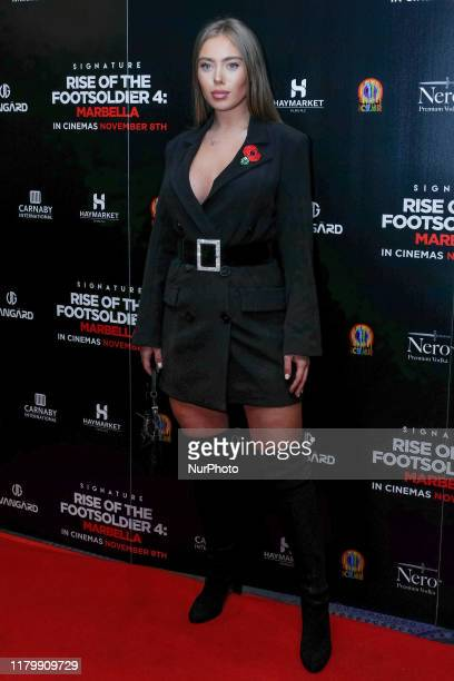 TyneLexy Clarson Attends the premiere of Rise of the Footsoldier 4 Marbella out in cinemas amp digital HD from Friday 8th November at the Troxy...
