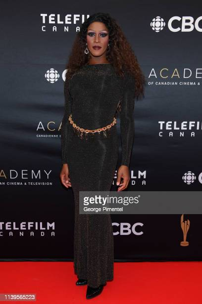 Tynomi Banks attends the 2019 Canadian Screen Awards Broadcast Gala at Sony Centre for the Performing Arts on March 31 2019 in Toronto Canada