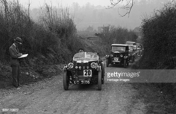 Type 1930 847 cc. Vehicle Reg. No. UD3166. Event Entry No: 20. Chassis No. 2M0357. Right: Riley Saloon 1929 1089 cc. Vehicle Reg. No. PG5501. Event...