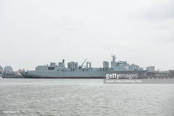 Type 901 fast combat support ship 31JUL17 SCMP/ Chow Chungyan
