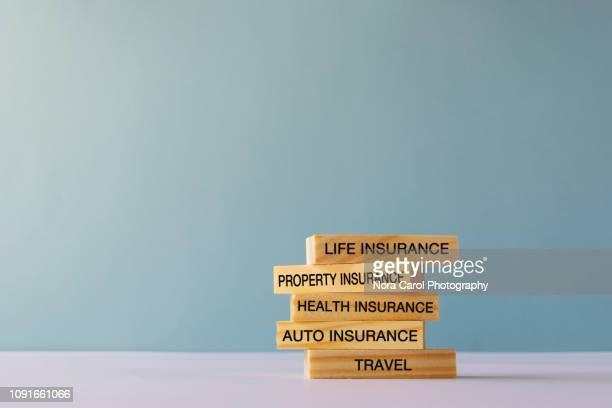 type of insurance conceptual - insurance stock pictures, royalty-free photos & images