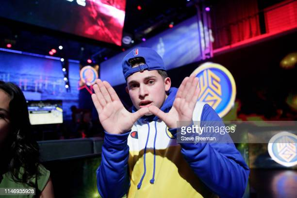 Type of the Warriors Gaming Squad poses for a photo following the match against Pacers Gaming during Week 7 of the NBA 2K League regular season on...