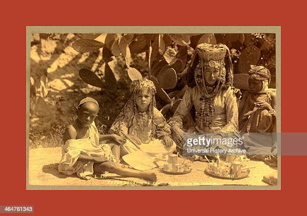 Types Algerians Family Of A Woman Ouled Nai ¨ Ls Neurdein Brothers 1860 1890 The Neurdein Photographs Of Algeria Including Byzantine And Roman Ruins...