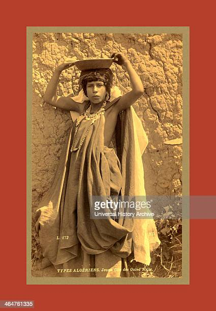 Types Algerians Girl Ouled Nai ¨ Ls Neurdein Brothers 1860 1890 The Neurdein Photographs Of Algeria Including Byzantine And Roman Ruins In Tebessa...