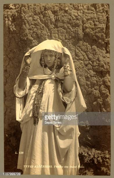 Types Algerians Woman of Ouled Nai ¬ ls Neurdein brothers 1860 1890 the Neurdein photographs of Algeria including Byzantine and Roman ruins in...