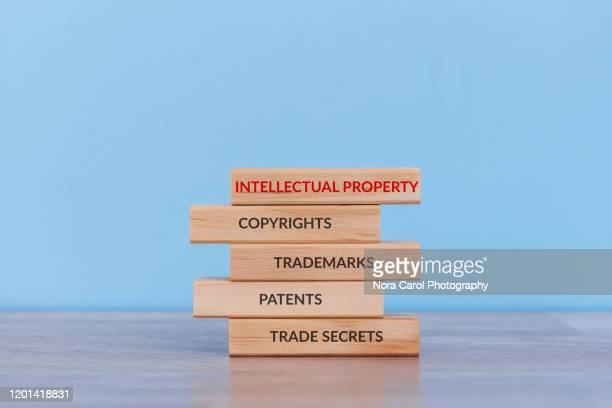 types of intellectual property - 知的財産 ストックフォトと画像