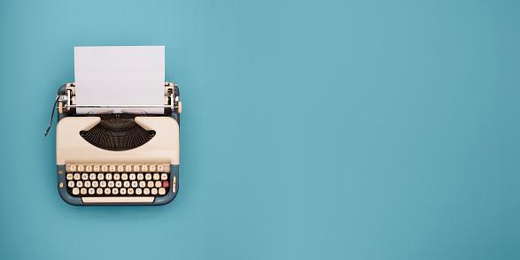 Typewriter header 649544350