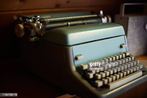 typewriter - heshphoto stock pictures, royalty-free photos & images