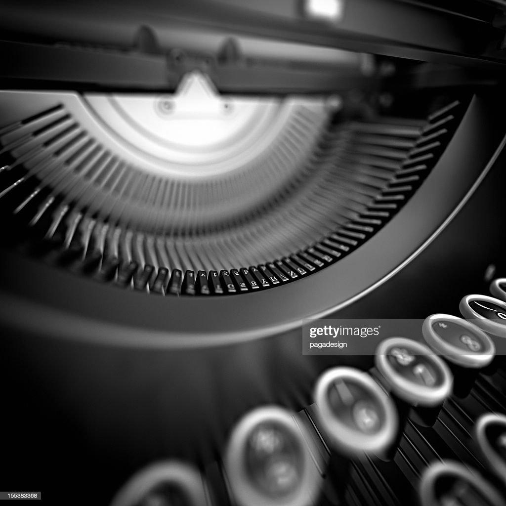 Schreibmaschine : Stock-Foto