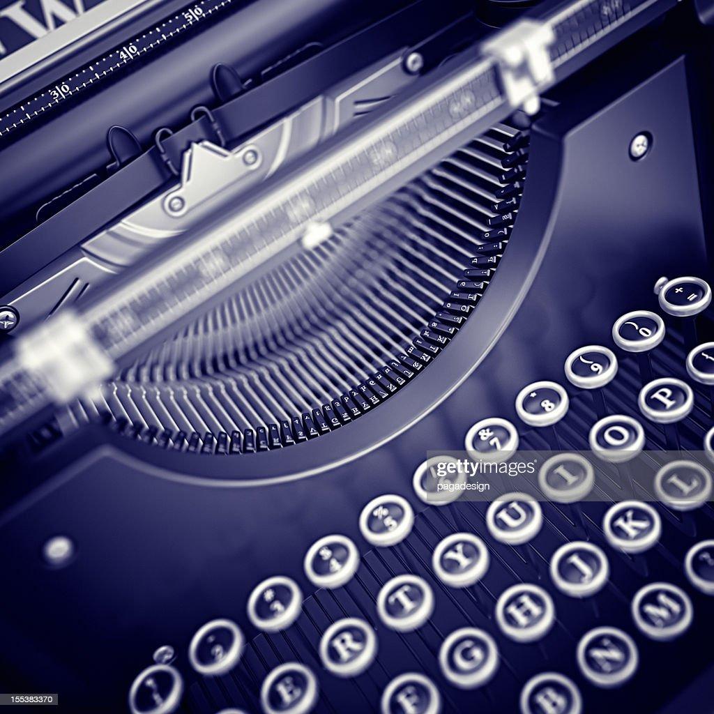 typewriter : Stockfoto