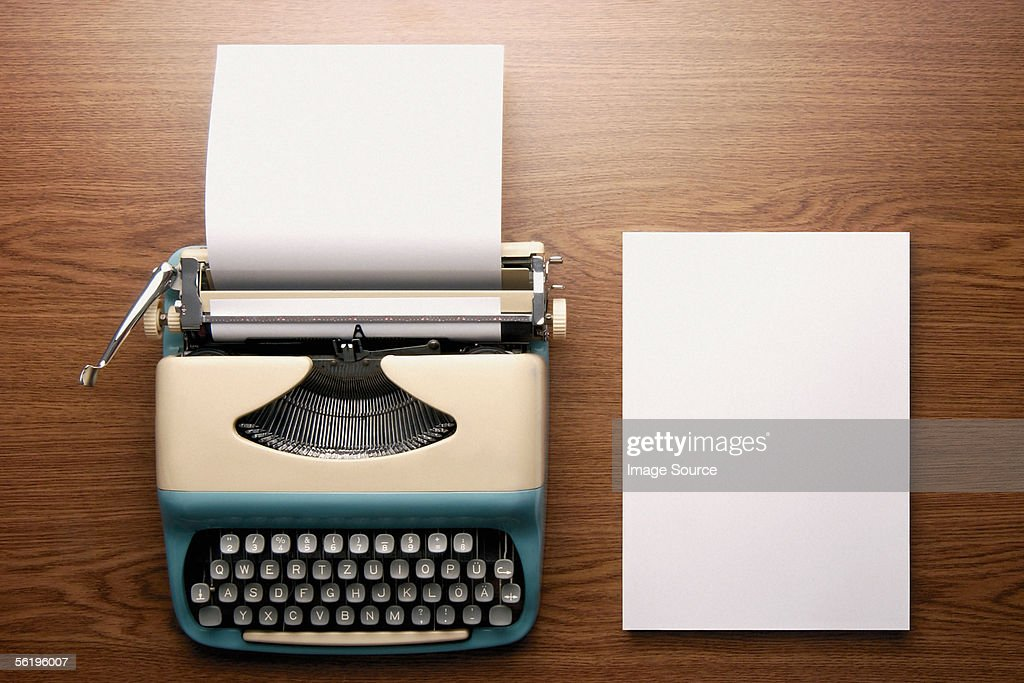 Typewriter : Stock Photo