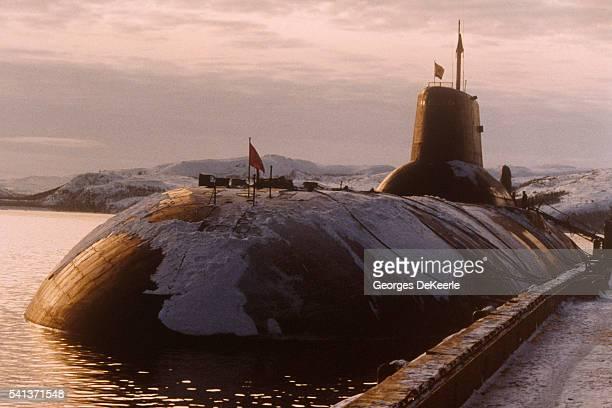 Typhoon Class Submarines in Murmansk