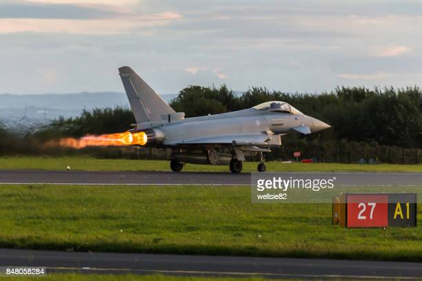 RAF Typhoon performance takeoff