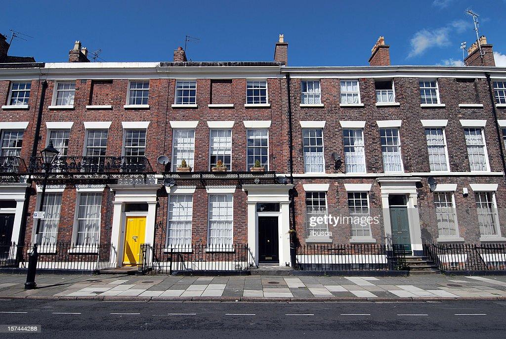 Typisch britisch Häuser : Stock-Foto