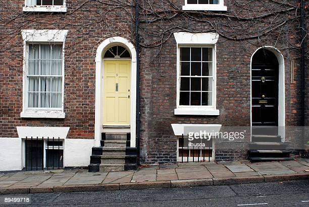 typical british scene - terraced field stock pictures, royalty-free photos & images