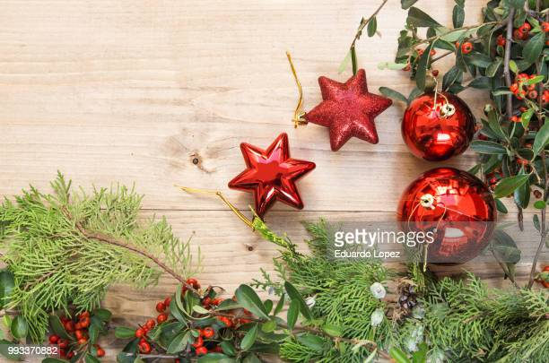 typical christmas ornaments - lopez stock pictures, royalty-free photos & images