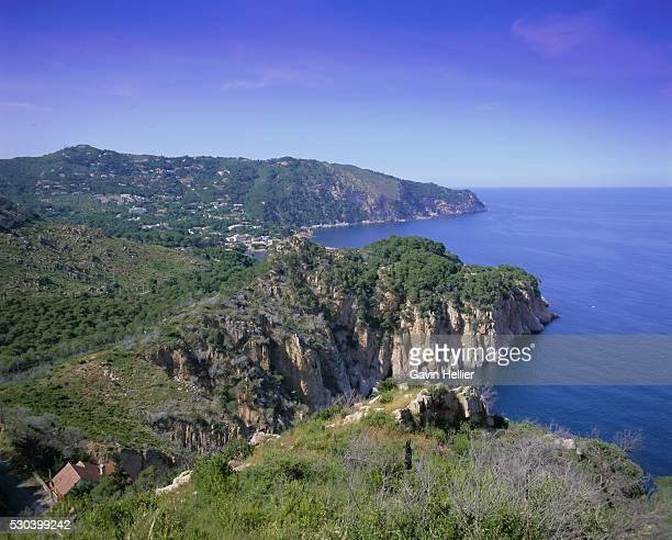 Typical Costa Brava scenery on the Cap de Creus, Costa Brava, Catalunya (Catalonia) (Cataluna), Spain, Europe