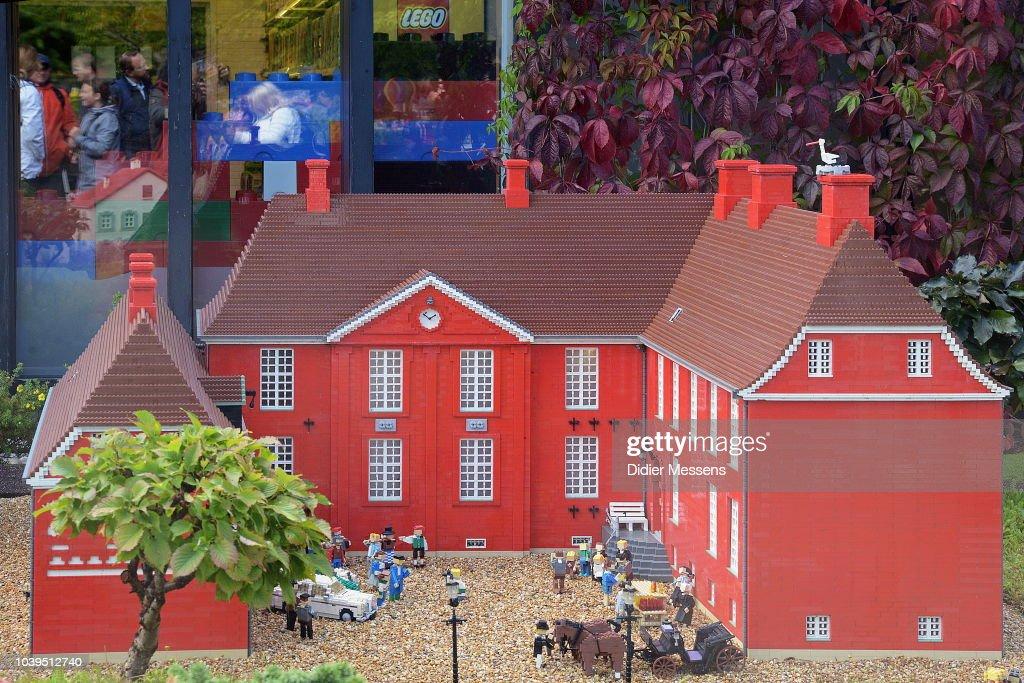 Legoland In Billund : Illustration : News Photo