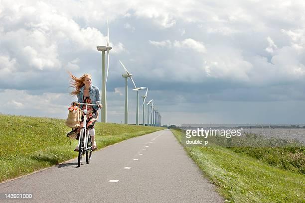 typical dutch - vindkraftverk bildbanksfoton och bilder
