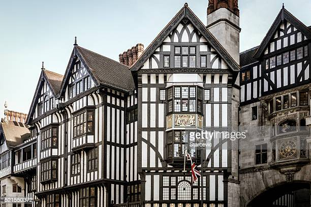 Typical English architecture