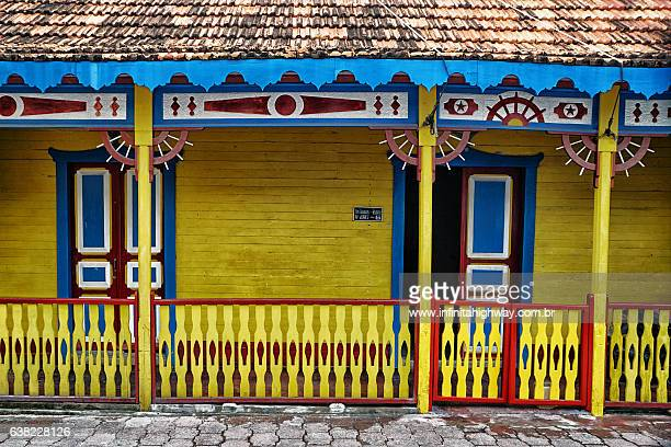 typical house in isla mujeres - isla mujeres ストックフォトと画像