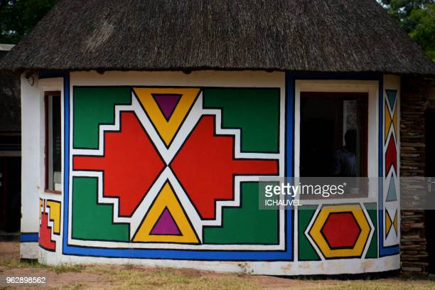 typical house south africa - limpopo province stock pictures, royalty-free photos & images
