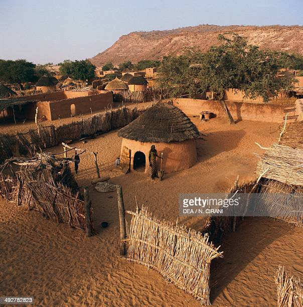 Typical Kanouri village near Goure Niger