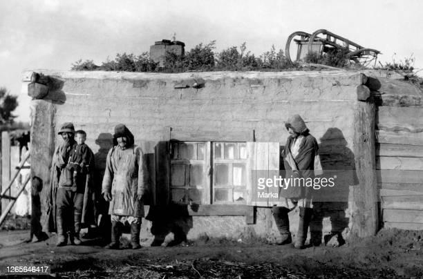 Typical Kyrgyz Dwelling. 1920-30.