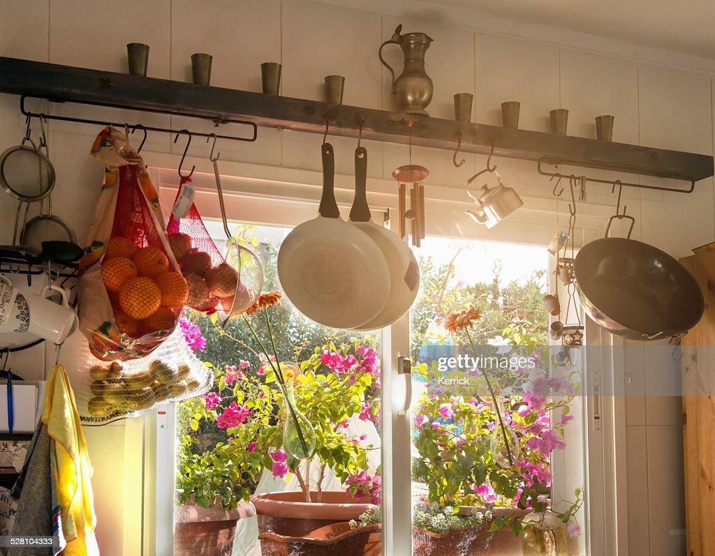 Künstlerisch Küche Mediterran Sammlung Von Typisch Küche Mit : Stock-foto