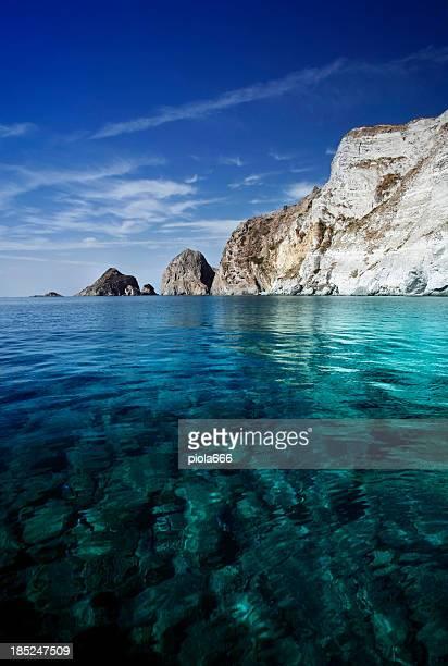 Typische Mittelmeer in Italien