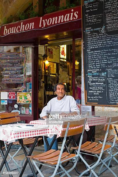 Typical restaurant in Lyon