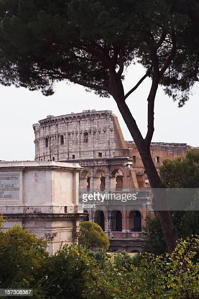Paysage typique romains