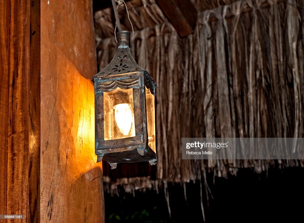 Typical rural luminaire : Stock Photo