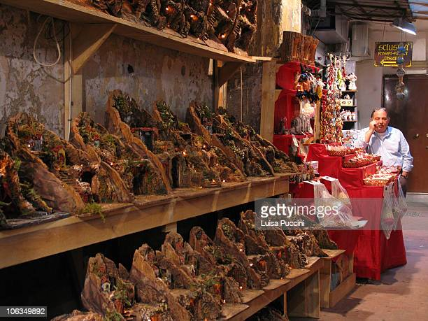 Typical shop in Napoli, San Gregorio Armeno