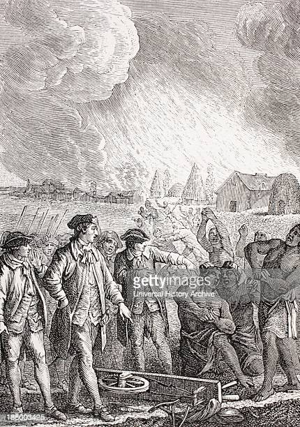 Typical Slave Trading Scene In The 18Th Century Slaves Forced To Work From Xviii Siecle Institutions Usages Et Costumes Published Paris 1875