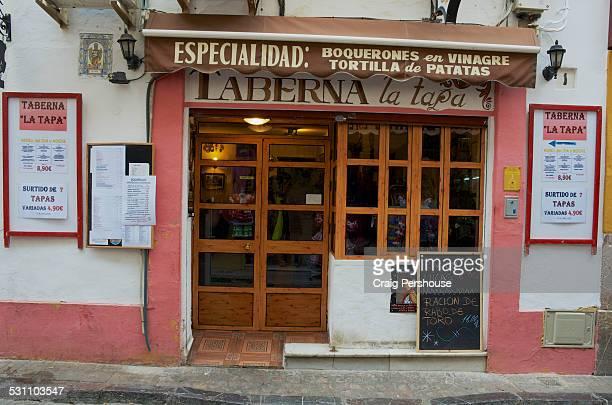 Typical Spanish tavern