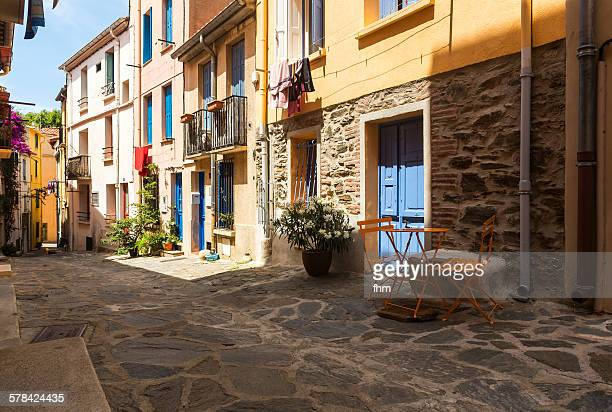 A typical street in south of France
