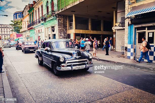 Typical street scene in Havana