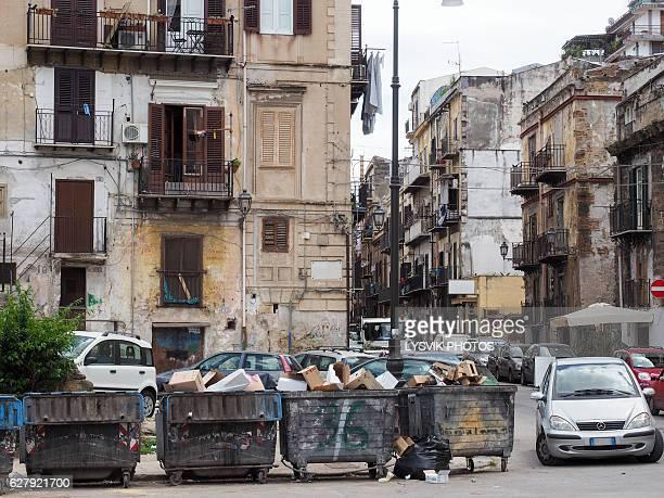 Typical street scene Palermo centre