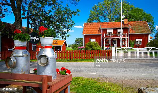 Typical swedish home in rural area
