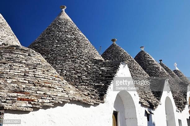 Typical trulli houses, Alberobello
