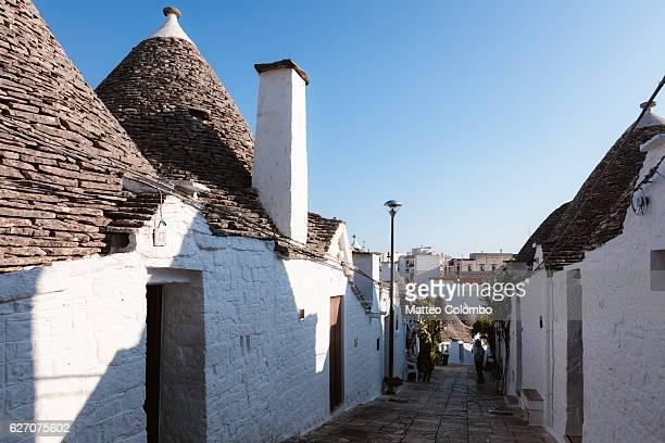 Typical Trulli houses, Alberobello, Puglia, Italy