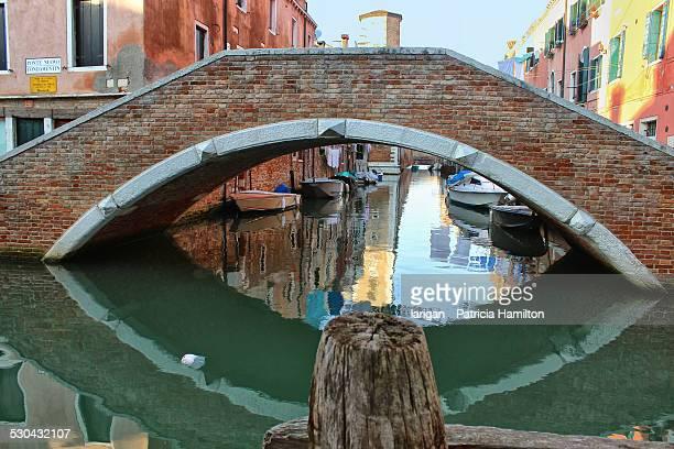 Typical Venetian footbridge, Castello district
