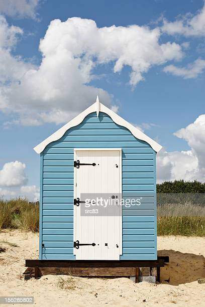 Typically English beach hut